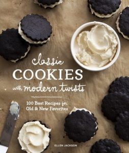 Book Cover of Classic Cookies with Modern Twists by Ellen Jackson