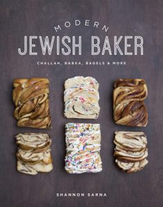 Book Cover of Modern Jewish Baker by Shannon Sarna