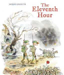 Book Cover of The Eleventh Hour by Jacques Goldstyn