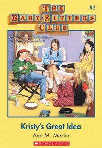 Original book cover of Kristy's Great Idea