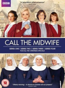 Call the midwife box set series 1-4