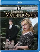DVD cover of Mansfield Park