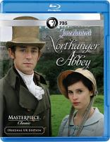 DVD cover of Northanger Abbey