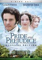 Cover of Pride and Prejudice DVD