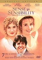 DVD cover of Sense and Sensibility