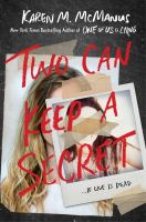 Book Cover Of Two Can Keep A Secret by Karen McManus