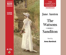 Cover of streaming e-audiobook of The Watsons and Sanditon