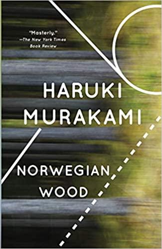 Book cover of Norwegian Wood by Murakami, Haruki