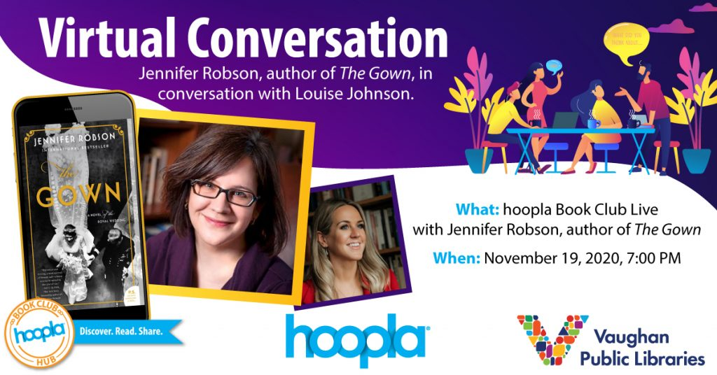 In Conversation with Jennifer Robson