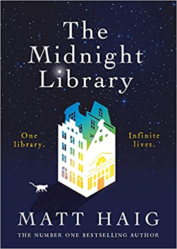 midnight library cover