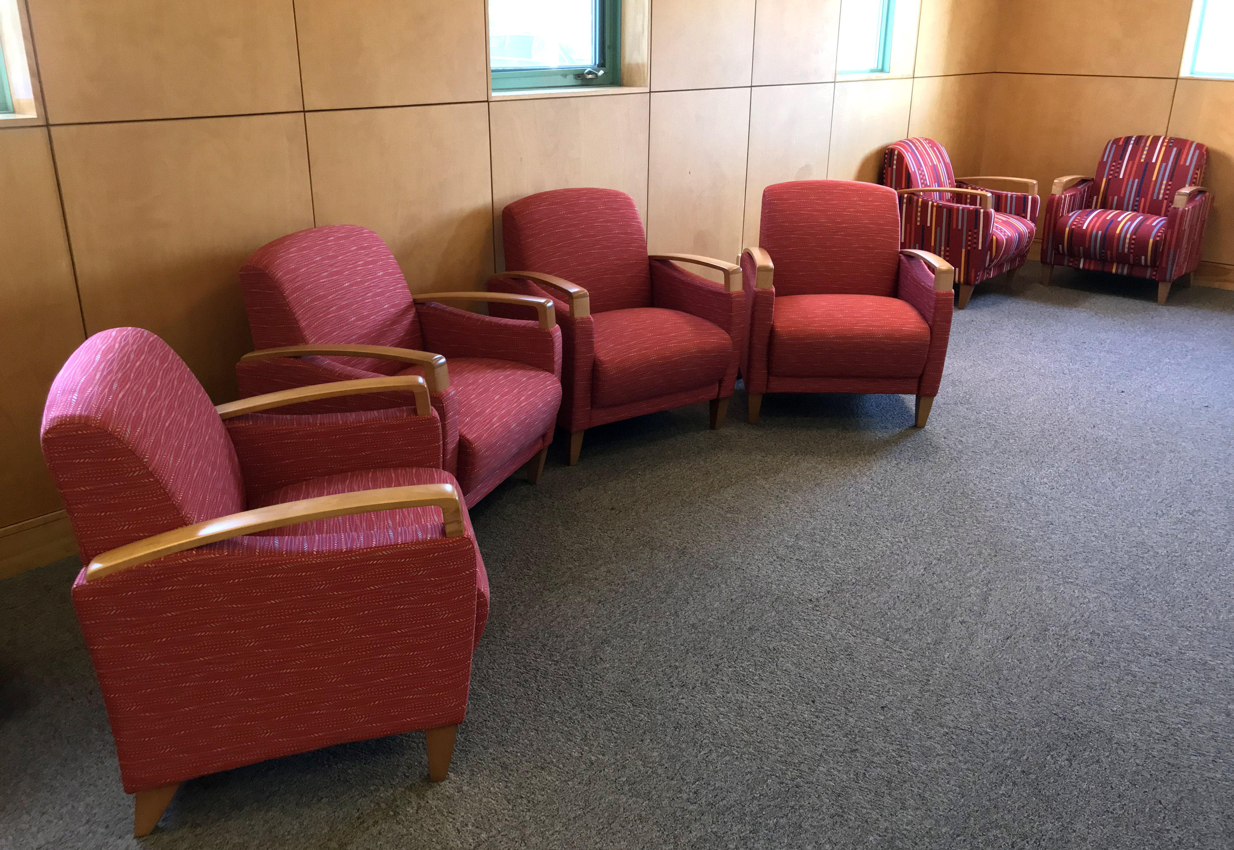 New seating at Ansley Grove Library