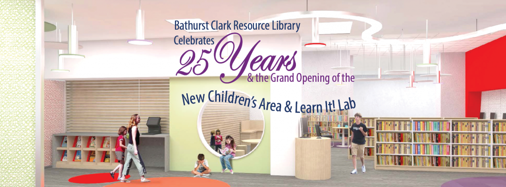 Bathurst Clark Resource Library 25th anniversary and opening of Learn It Lab