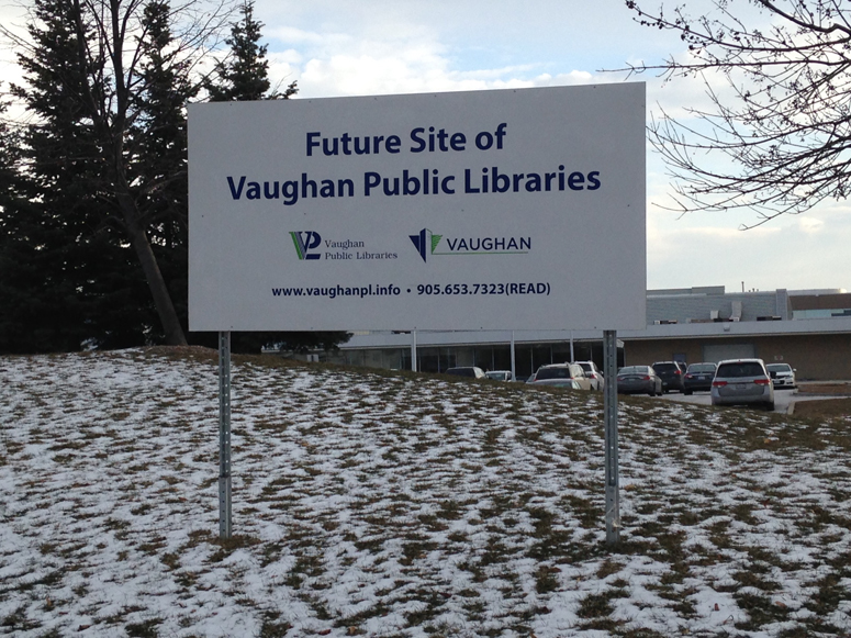 Future site of VPL sign