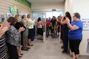 Opening the doors to the public and a welcome by VPL Board and staff