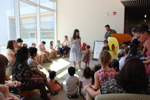 Storytimes for the kids at Vellore Village Library