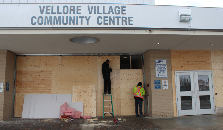 Vellore Village South Library construction has begun