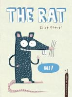 """Cover of the book """"The Rat"""", with an illustration of a rat saying """"Hi!"""""""