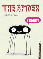 """Cover of the book """"the Spider"""", with an illustration of a spider saying """"Howdy!"""""""