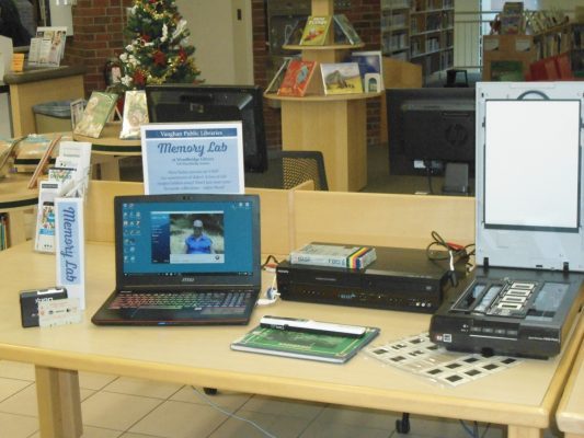 Memory Lab @ Woodbridge Library