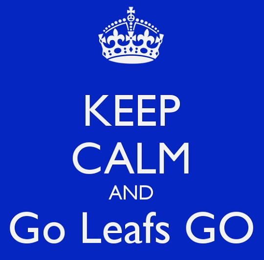keep calm and go leafs go 2 Photo